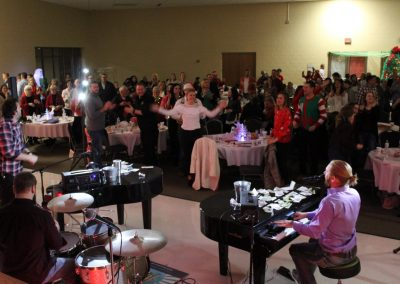 Dueling pianos event